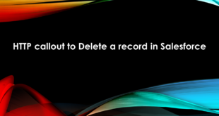 HTTP callout to Delete a record in Salesforce