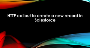 HTTP callout to create a new record in Salesforce
