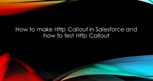 How to make Http Callout n Salesforce