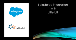 Jitterbit Cloud agent with Salesforce